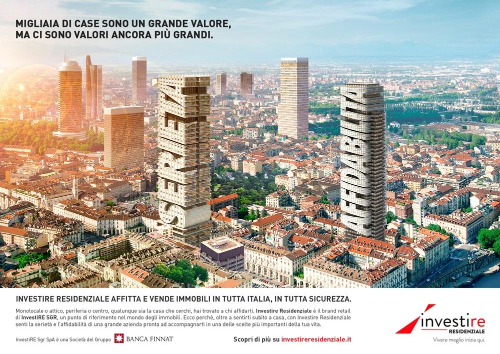 investire SGR Campagna Istituzionale Valori